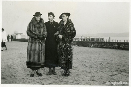 sophisticated coats old vintage photo fashion 1930