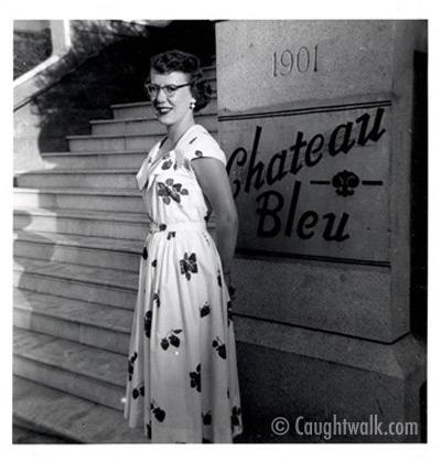 glamour attitude old vintage photo fashion 1950