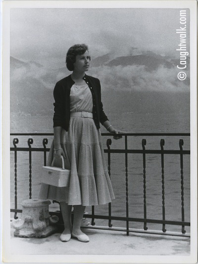 sunny mood old vintage photo fashion 1950
